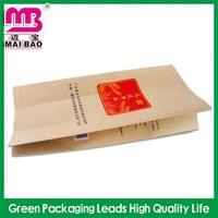 wide selection food kraft paper package bag fried chicken bag