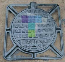 Bituminous paint coating manhole cover