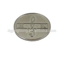 custom round metal coin