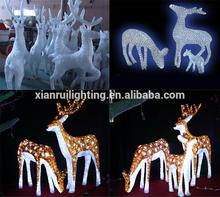 LED Acrylic lighting waterproof outdoor Christmas light acrylic figures