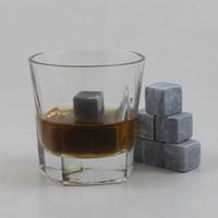food grade plastic ice cube whiskey stone Natural Soapstone
