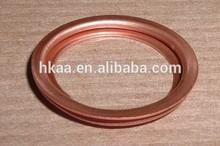 round copper sealing washer