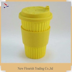 creative Lipton yellow stripe portable tea mug for NFB0010