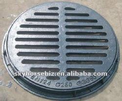 EN124 ductile iron water grating bitumen paint