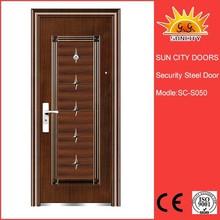 steel exterior door jambs/steel security door/metal iron door SC-S050