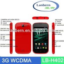 OEM 2014 4.0inch android4.2 MTK6752 dual core Dual Camera gprs phones China phone set LB-H402