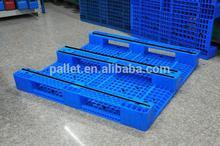 1300x1100x155mm, Single face 3 Legs-Ventilated deck HDPE Pallet