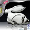 Promotion cheap chrome car brand logo badge