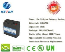 LIFEPO4 BATTERY 12v16AH for SOLAR STORAGE power supply GOLF TROLLEY