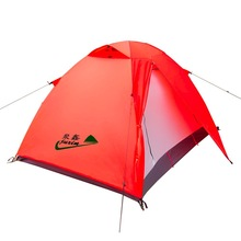 High Quality Double Layer Four Season Outdoor 4 Person Outdoor Camping Tent