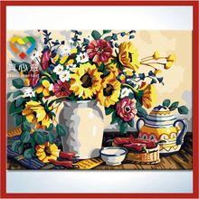 zhuhai truehearted modern flower painting artworks