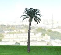 1:400 4.2cm Copper Palm Tree Model Scenery Tree