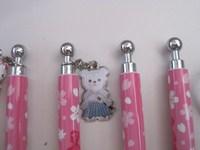 Shenzhen Exclusive Design Fancy Hanging Drop Ballpoint Pen