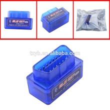 Diagnostic Tools MINI ELM327 Bluetooth ELM 327 Interface OBD2/OBD II Auto Code Scanner
