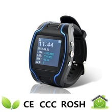 latest wrist watch mobile phone and Hand Held monitor hiking outdoor and hidden gps tracker for kids