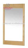 Solid Oak bedroom set wooden furiture New Wall Mirror(1.2m Long)CO8117