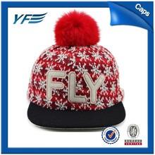 Promocional exterior invierno sombreros y gorras con la tapa de la bola