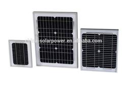 high efficiency 10W 20W 9V/12V/18V small solar panel