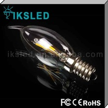 1.2W 360 degree mini driver led filament bulb LEB BULB DIMMABLE