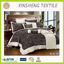 Hometextile High qualtiy bedding set Velvet printing 9pcs comforter set