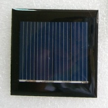 China manufacturer customized design 50*50mm 2V 100mA cheap epoxy resin mini solar panel for battery charging/ led lights