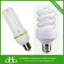 spiral CFL light, energy saving light 9w 11w, 13w 15w , E14/E27/ B22 base, 2700-6400k