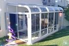 Delux Insulation Slant Top Aluminum Sunroom