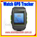 sicurezza gps tracker quad band orologio gps telefono reale gps tracker orologio da polso cellulare
