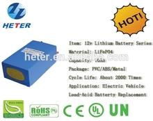 LITHIUM BATTERY PACK 12V 10AH