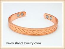 hot sale high power magnetic rheumatoid arthritis copper bracelet most popular in UK and USA market
