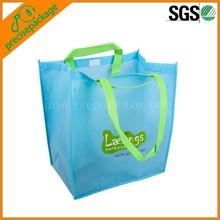 Reusable portable shopping packing bag