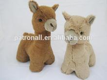 Alpaca plush animal toys/Soft stuffed plush alpaca toy