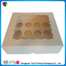 2014 Cheap printing cardpaper sweet cupcake boxes wholesale