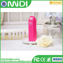 2014 newest style power bank milk multi-colored