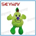 Fruit green pear pet toys for cat and dog
