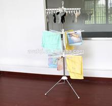 Three Layer Folding Clothes Tree
