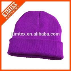 Fashion promotional custom acrylic ski hat