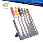 Fasion Kitchen Knife Set with Wooden Magnet Stand