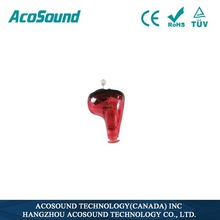 Programmable Mini ear sound amplifier Acosound 610 Standard CIC Digital hearing aid cleaners
