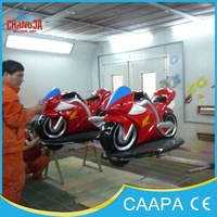 China amusement park rides mini racing motorcycling for sale