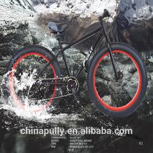 2014 hot sell FT2601A 26 inch 8 Speed BIG Snow bike/Fat tire BIKE