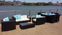 Garden Plastic Sofa Luxury Outdoor Furniture