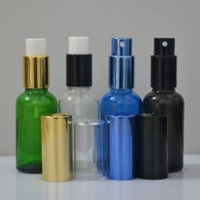 best price Screen Printing Surface Handling and Pump Sprayer Sealing Type glass bottle with pump dispenser