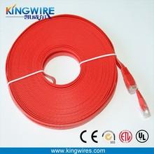 China supplier bargain sale lifetime warranty flat patch cable computer for 3 scrap piece networks