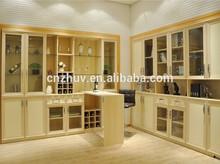 corner bar wine display cabinet