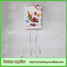 birthday paper pinatas