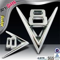 Cheap custom metal auto car logo badge
