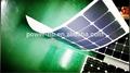silício monocristalino material de película fina de células solares