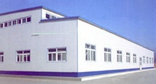 Prefabricated Steel Warehouse with High Quality