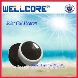 2014 Hottest Sale Mini Waterproof Enclosure, Bluetooth beacon, Solar Power ibeacon